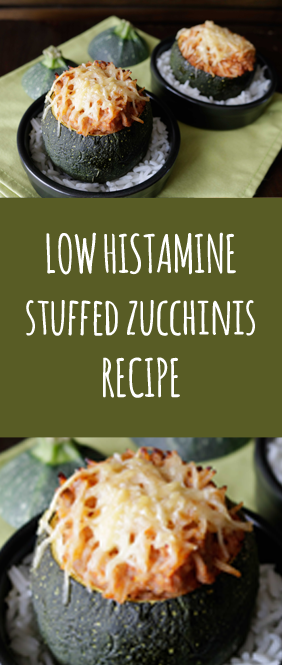 low histamine stuffed zucchini recipe